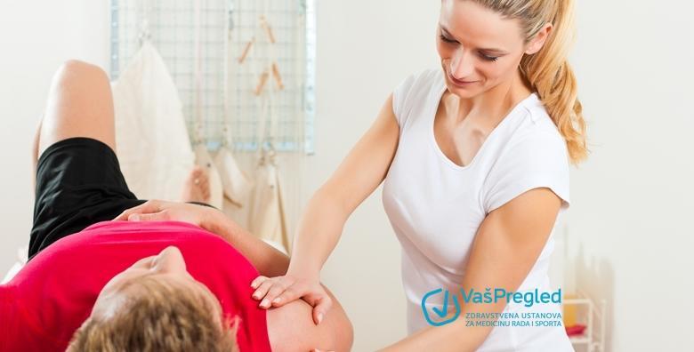 Paket fizikalne terapije - pregled fizioterapeuta i fizioterapijska procjena u trajanju 2 tjedna u Ustanovi za zdravstvenu skrb Vaš pregled za 1.440 kn!