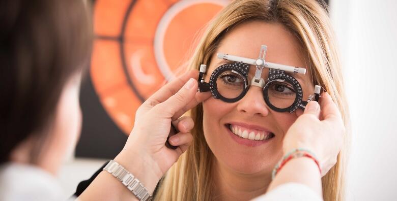 Kompletan oftalmološki pregled uz mjerenje očnog tlaka za 199 kn!