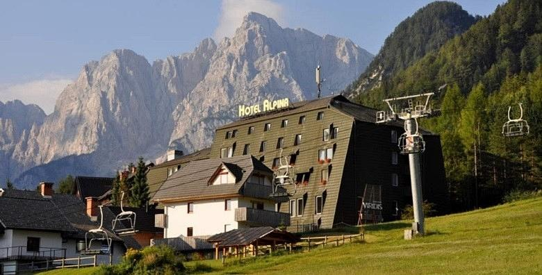 POPUST: 46% - KRANJSKA GORA Last minute prilika za wellness opuštanje u srcu Julijskih Alpi!1, 2, 3 ili 4 noći s doručkom ili polupansionom za dvoje u Hotelu Alpina 3* od 564 kn! (Hotel Alpina 3*)