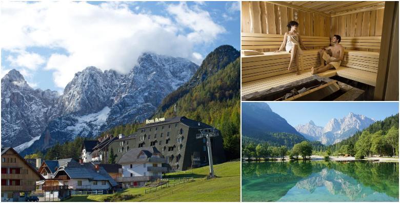 POPUST: 53% - KRANJSKA GORA Savršeno wellness opuštanje u srcu Julijskih Alpi!  1, 2, 3 ili 4 noći s doručkom ili polupansionom za dvoje u Hotelu Alpina 3* od 436 kn! (Hotel Alpina 3*)