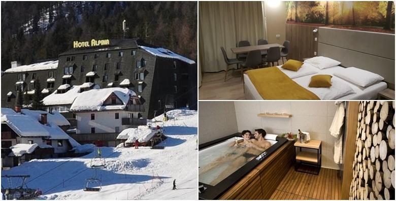 Kranjska Gora - 1 noćenje s polupansionom za 2 osobe u Hotelu Alpina 3* od 885 kn!