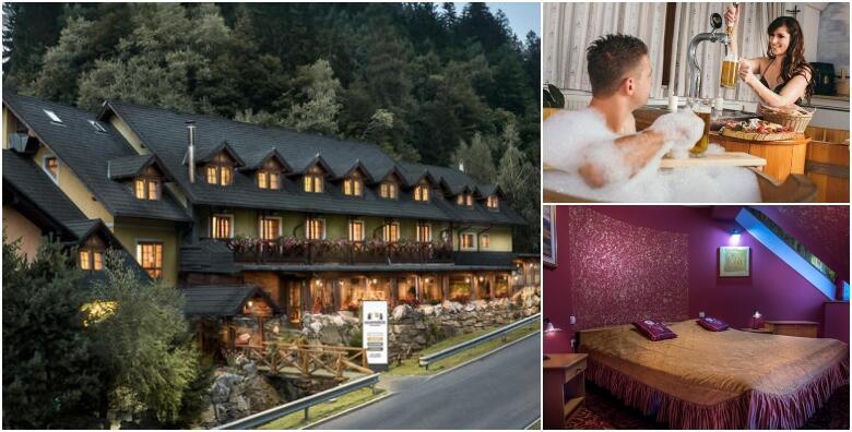 POPUST: 54% - Luksuzni wellness odmor u Sloveniji za 2 osobe u Hotelu Gostišče Pod Roglo 3* uz 2 noćenja s polupansionom i korištenjem whirlpoola za 1.204 kn! (Hotel Gostišče Pod Roglo)
