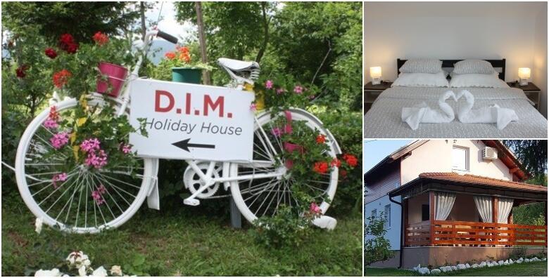 Plitvice - provedite aktivni odmor uz korištenje bicikala i 2 noćenja za 4 osobe + gratis smještaj za 2 djece do 7 godina u kući za odmor D.I.M. Holiday House 3* za 999 kn!
