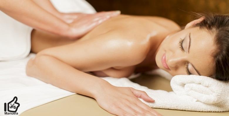 Masaža leđa ili cijelog tijela - 30 ili 60 minuta opuštajućeg tretmana protiv bolova i ukočenosti u Studiju ljepote Manuela već od 69 kn!