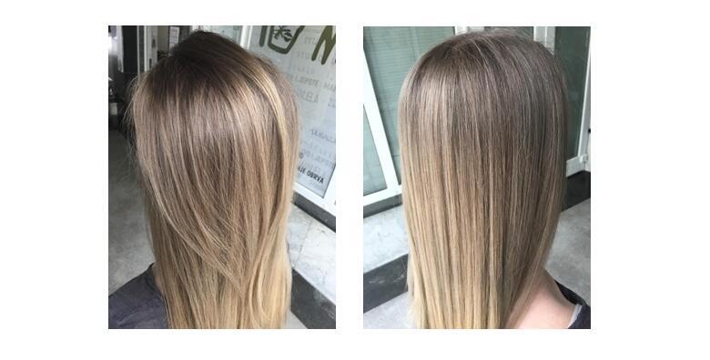 Pramenovi ili bojanje, šišanje vrućim škarama, njega matičnim stanicama ili Nashi argan te fen frizura - odaberite novi i osvježavajući look već od 149 kn!