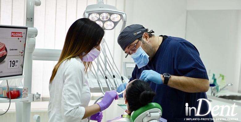 POPUST: 40% - KERAMIČKA KRUNICA Zamijenite oštećeni ili izgubljeni zub Emax krunicom  koju je nemoguće razlikovati od prirodnog zuba za 1.500 kn! (InDent)