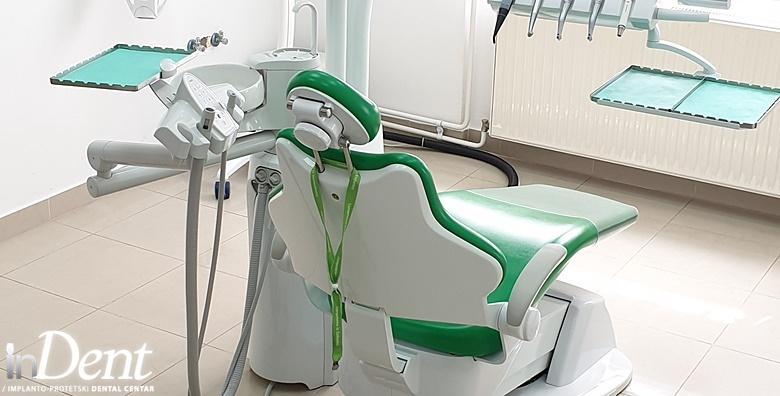 MEGA POPUST: 79% - ČIŠĆENJE KAMENCA Uklonite naslage i plak s obje čeljusti te spriječite propadanje zubi uz uključeno pjeskarenje + gratis poliranje i pregled za 129 kn! (InDent)