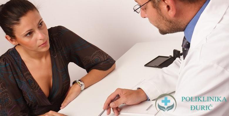 POPUST: 63% - Ginekološki pregled, ultrazvuk, papa test i color doppler u Poliklinici Đurić za 289 kn! (Poliklinika Đurić)