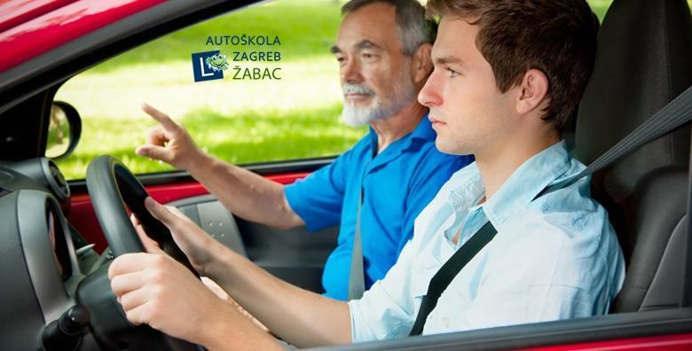 Autoškola - kondicijski sat dodatne vožnje za B kategoriju za samo 73 kn!