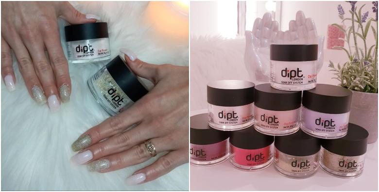 Dipping nails - najnovija hit manikura koja pridonosi jačanju i rastu noktiju za 99 kn!