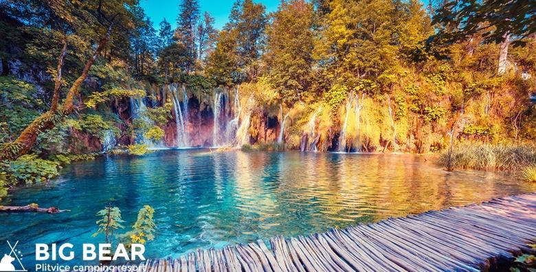 [PLITVICE] Provedite godišnji odmor u luksuznoj kućici u novom Big Bear Camping Resortu**** tik do predivnih jezera već od 991 kn!