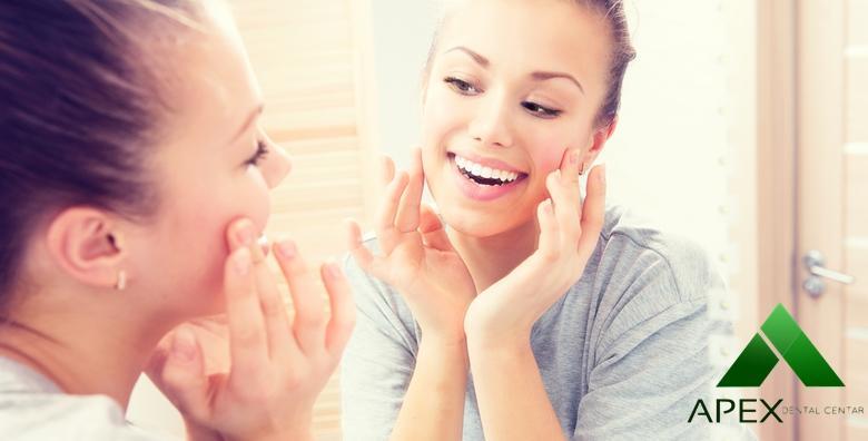 MEGA POPUST: 75% - Stomatološke usluge po izboru - voucher za 99 kn u vrijednosti 400 kn! Osigurajte blistav osmijeh uz vrhunske stručnjake u Dental centru Apex! (Dental centar Apex)