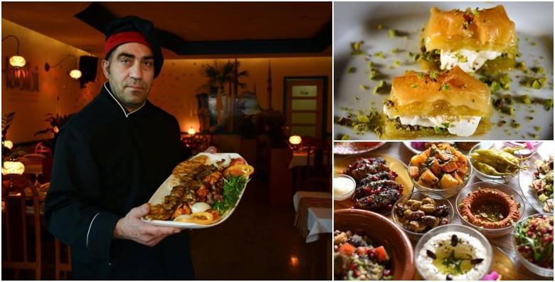 Libanonska gozba u 3 slijeda za dvije osobe u restoranu Biblos Habibi za 249 kn!