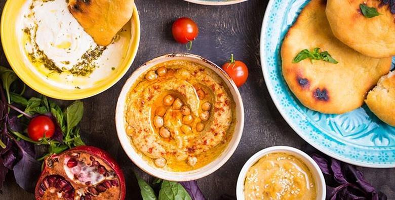 Libanonske delicije za dvije osobe u restoranu Biblos Habibi za 119 kn!