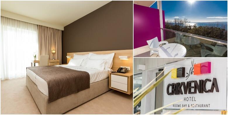 Crikvenica - priuštite si zasluženi opuštajući odmor uz 2 noćenja s doručkom za 2 osobe + gratis ponuda za 1 dijete do 4,99 godina u Hotelu Crikvenica 4* za 1.299 kn!
