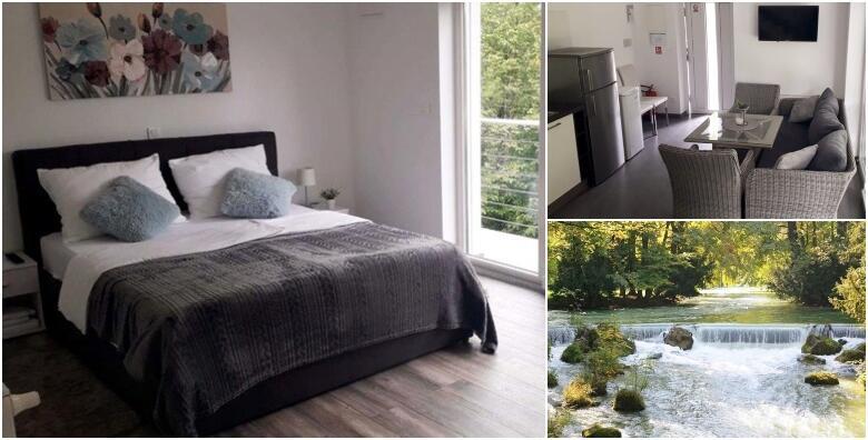 LJETO NA MREŽNICI - 2 noćenja za do 6 osoba u River Lord Mrežnica 4*! Uživajte u čarobnoj zelenoj oazi tik do rijeke za 1.499 kn!