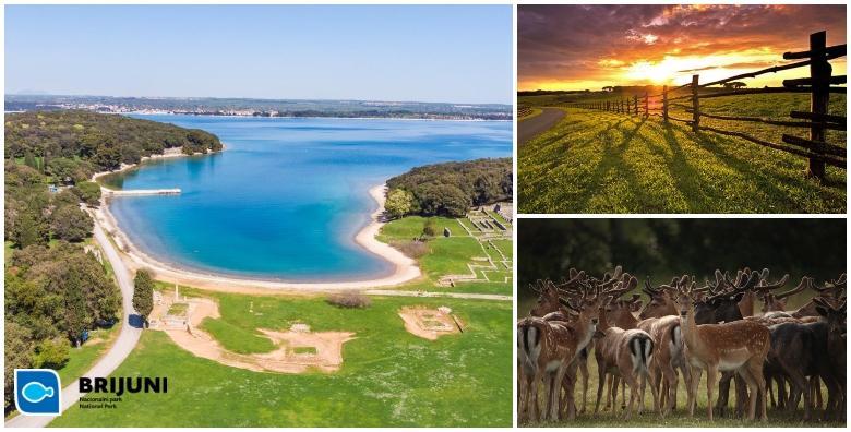 Ljeto na Brijunima! 2 ili 4 noćenja s polupansionom za dvoje u Depandansi Neptun blizu uređene plaže - nezaboravan odmor u raskošnoj prirodnoj oazi od 2.338 kn!