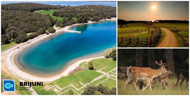 BRIJUNI- 2 noćenja s polupansionom za dvoje u Sobama Karmen ili u depadansi Neptun ili Hotelu Istra uz uključene ulaznice za nacionalni i Safari park već od 1.350 kn!