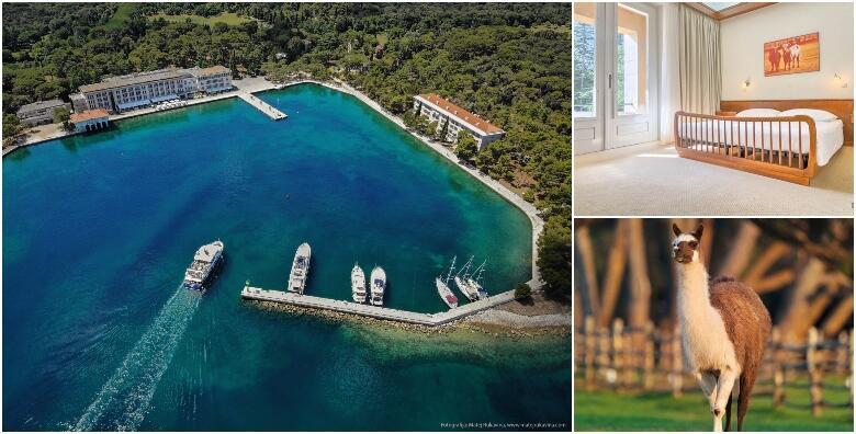 BRIJUNI- 2 noćenja s polupansionom za dvoje + 1 gratis smještaj za 1 dijete do 3,99 godina u Hotelu Neptun 3* ili u Hotelu Istra 3* uz ulaznice za nacionalni i Safari park od 1.049 kn!