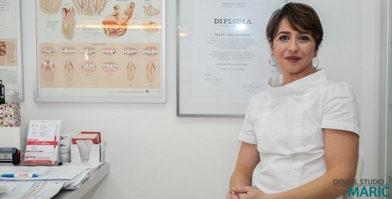 MEGA POPUST: 88% - Plomba uz pregled ili čišćenje kamenca, poliranje i pjeskarenje u Dental Studiju Marić - osigurajte si zdrave i blistave zube već od 99 kn! (Dental studio Marić)
