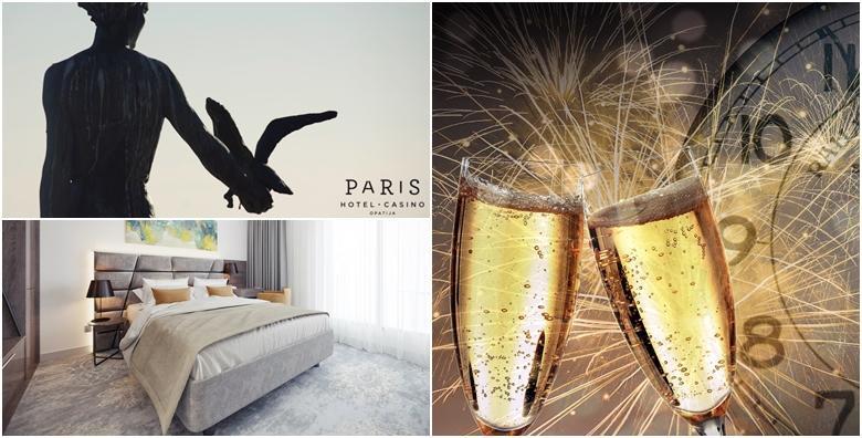 Nova godina u Opatiji - 3 noćenja za 2 osobe s polupansionom u Hotelu Paris 4* uz novogodišnju večeru, živu glazbu i ples te aperitivom i čašom pjenušca za 5.010 kn!
