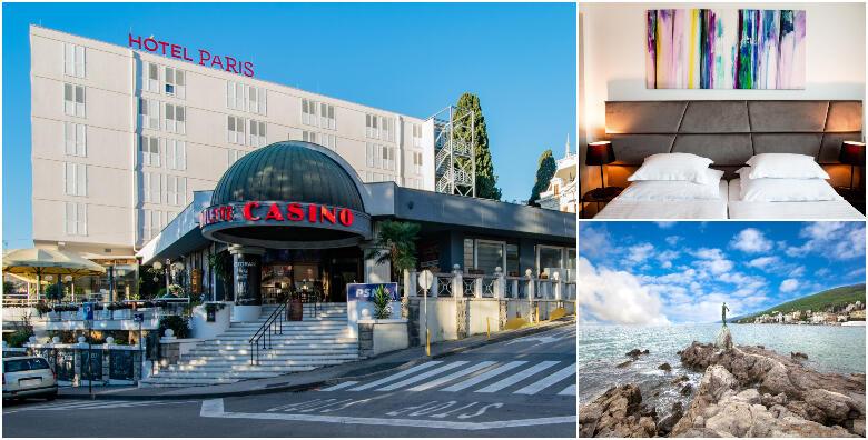 Opatija, Hotel Paris 4* - 2 ili 5 noćenja s polupansionom za dvoje od 1.927 kn!