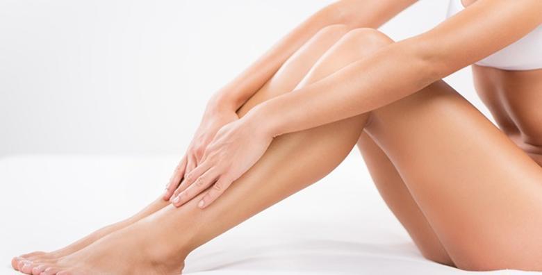 Depilacija cijelih nogu i bikini zone voskom u Beauty Studiju Shpresa za samo 69 kn!