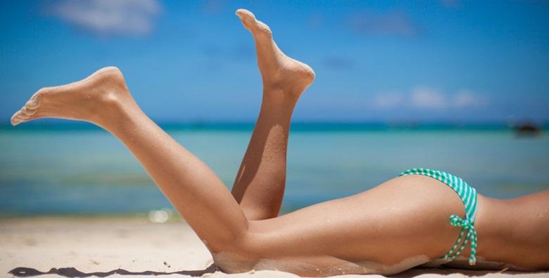 POPUST: 56% - Depilacija cijelih nogu i brazilke voskom - uživajte u dugotrajnoj glatkoći i samouvjereno prošetajte plažom za samo 75 kn! (Pedikura i njega tijela JURAN)