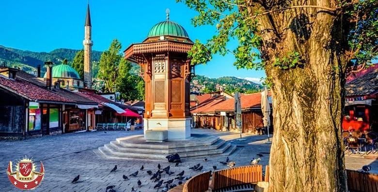Ponuda dana: SARAJEVO 2 noćenja s doručkom za 2 osobe u hotelu 3* - posjetite povijesnu Baščaršiju, uživajte u bosanskim specijalitetima i najboljoj turskoj kavi za 599 kn! (Hotel Sunce 3*)