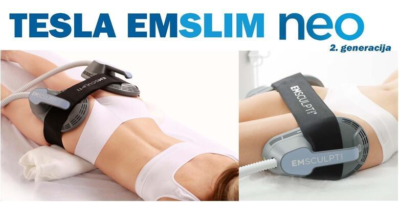 Tehnika zamrzavanja masnih stanica i tretman uređajem Tesla Emslim Neo/RF za trajno uklanjanje viška kilograma, celulita i zatezanje kože od 1.549 kn!