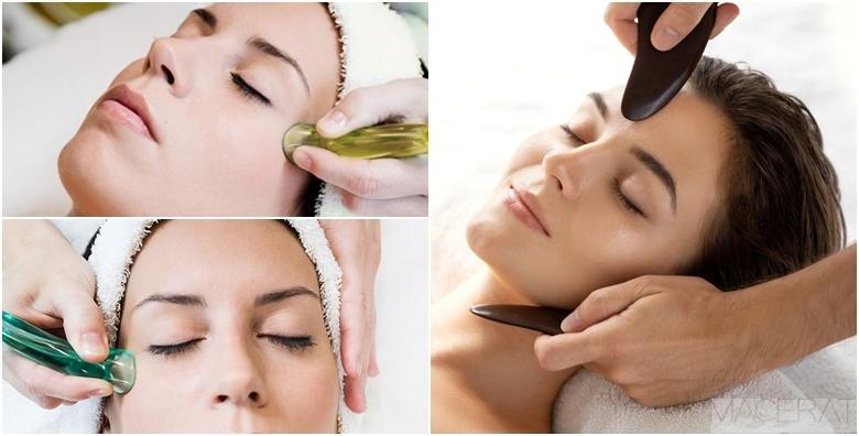 Prirodni face lifting putem Cupping i Gua-Sha terapije lica - zategnite kožu za 210 kn!