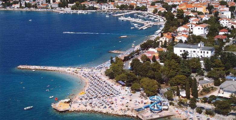 [SELCE] Uživajte u rujanskim terminima u najposjećenijoj destinaciji na Kvarneru!  2 noćenja s polupansionom za dvoje u hotelu 3* tik do plaže za samo 879 kn!