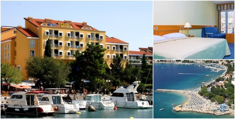 SELCE - nezaboravno ljeto u ŠPICI SEZONE uz 2 noćenja s doručkom za dvoje + gratis smještaj za 1 dijete do 5,99 godina u Hotelu Selce 3* tik uz plažu za 970 kn!