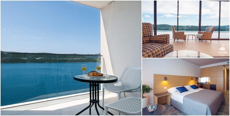 Ponuda dana: NEUM 2 noćenja s polupansionom za dvoje - LAST MINUTE luksuzni odmor u novom Hotelu Vapore 4* samo 10 metara od plaže već od 1.400 kn! (Hotel Vapore 4*)