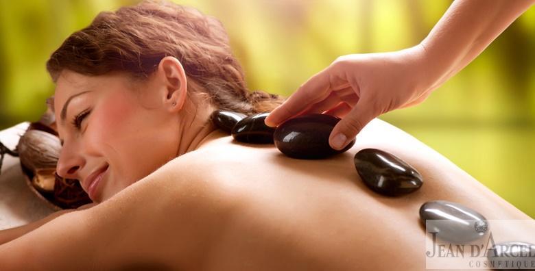 POPUST: 55% - Hot stone masaža - tretman cijelog tijela vrućim kamenjem blagotvornog učinka koje oslobađa tijelo stresa i napetosti za 99 kn! (Jean d`Arcel Medical & Beauty Institut)