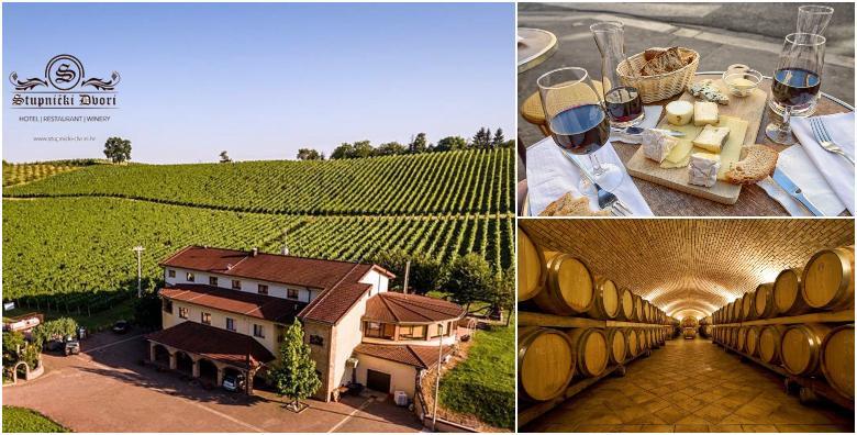 POPUST: 34% - STUPNIČKI DVORI 3* Slavonska idila u zagrljaju vinograda! 2 noćenja s polupansionom za dvoje uz obilazak vinarije Galić i degustaciju! (Stupnički Dvori 3*)