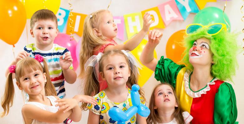 Dječji rođendan - 2 sata zabave za do 15 djece od 599 kn!