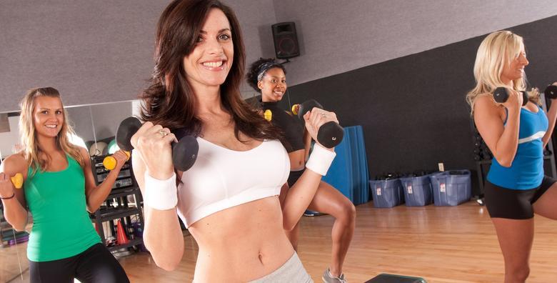 POPUST: 50% - TERETANA Najbolja verzija tebe čeka te u DG fitness centru!2 mjeseca vježbanja u teretani samo za žene već od 240 kn! (DG Fitness centar za žene)