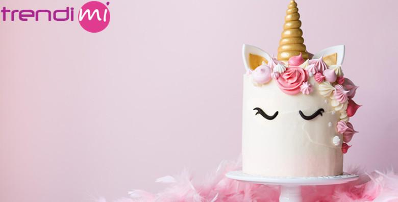 MEGA POPUST: 95% - Dekoriranje kolača i torti - napravite prava remek djela s jednostavnim, efektnim uzorcima i ukrasima te obucite slastice u novo modno ruho :) (Trendimi)