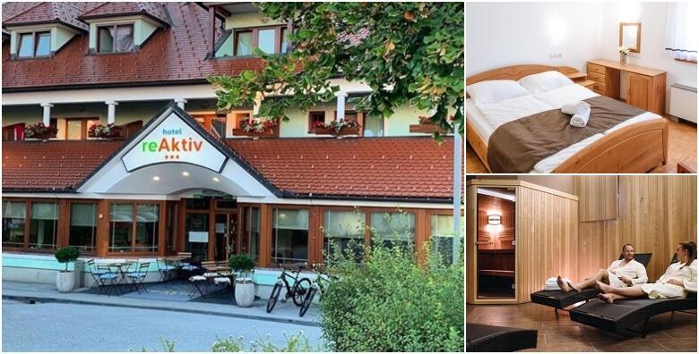 Slovenija - 2 noćenja s polupansionom za dvoje u Hotelu reAktiv 3* za 1.128 kn!