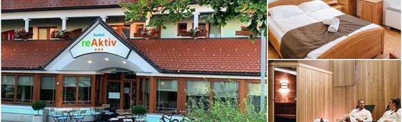 Slovenija - opuštajući wellness odmor uz 2 noćenja s polupansionom za 2 osobe u Hotelu reAktiv 3* uz saunu i kupanje u Termama Zreče za 1.128 kn!