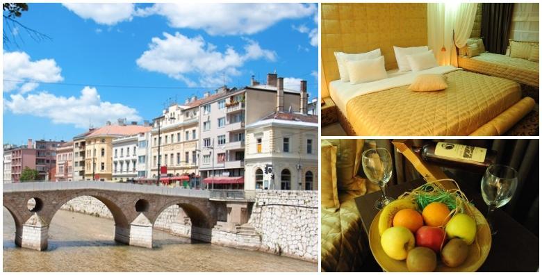 POPUST: 35% - SARAJEVO - 2 noćenja s doručkom za dvoje u hotelu Merona samo 10 minuta udaljenom od prekrasne Baščaršije i najboljih ćevapa već od 586 kn! (Hotel Merona)