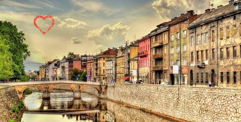 Sarajevo - 1 noćenje s doručkom za dvoje u hotelu Merona za 532 kn!