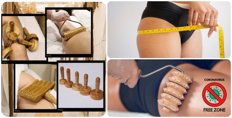 Oblikujte tijelo uz 3 brazilske maderoterapije,3 limfne drenaže i 3 body wrappinga za 449 kn!