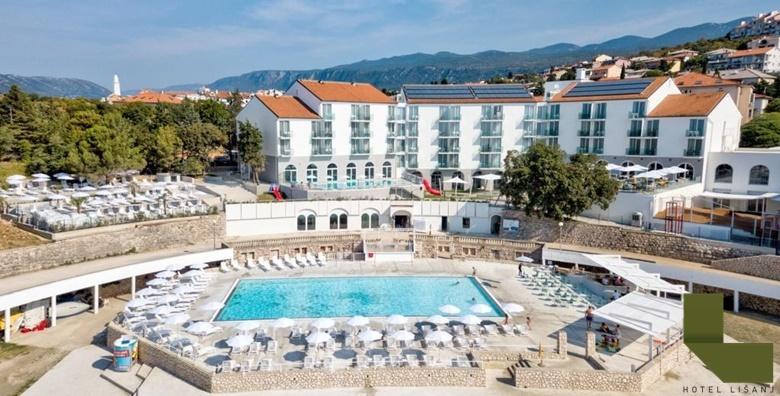 Novi Vinodolski, Hotel Lišanj 4* - 2 noćenja s polupansionom i wellnessom za dvoje za 1.251 kn!