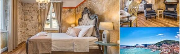 Split - provedite opuštajući odmor samo 200 m od Dioklecijanove palače uz 1 ili više noćenja sa ili bez doručka za 2 osobe u Plaza Marchi Heritage Old Town 4* od 405 kn!