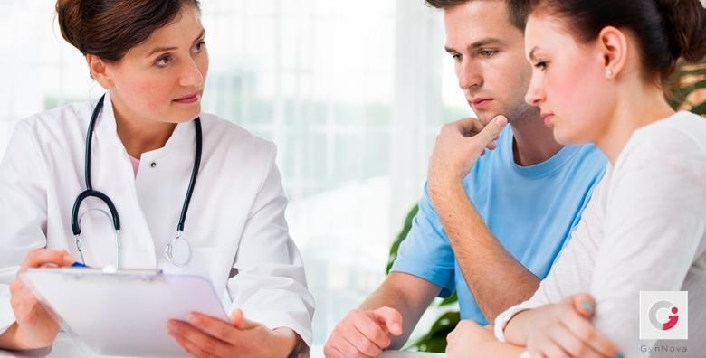 Ponuda dana: Obrada neplodnosti - SVE potrebne pretrage za procjenu stupnja neplodnosti, otkrivanje razloga i planiranje postupaka medicinski pomognute oplodnje! (Ginekološka ordinacija GynNova)