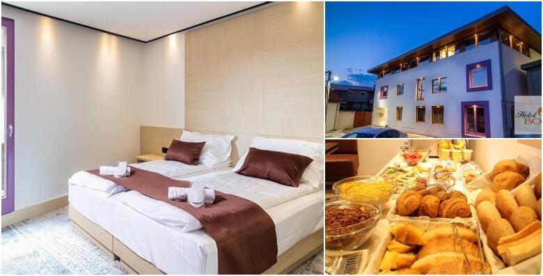 Ponuda dana: Novootvoreni Hotel Boss 4* u samom srcu Sarajeva! 2 noćenja s doručkom za dvoje u delux sobi s pogledom na grad - uživajte u neposrednoj blizini Baščaršije! (Hotel Boss 4*)