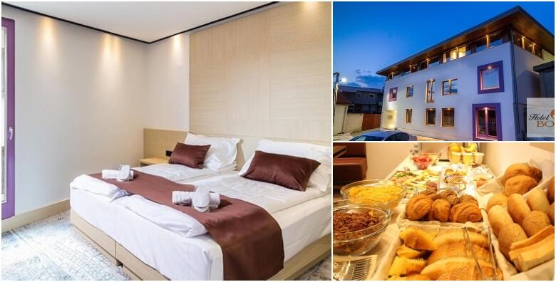 Uživajte u srcu Sarajeva uz 1 ili više noćenja s doručkom za 2 osobe u Hotelu Boss 4* od 333 kn