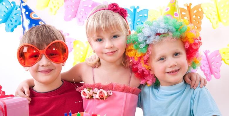 Dječji rođendan - 2 sata zabave za 12 djece i slavljenika za 499 kn!